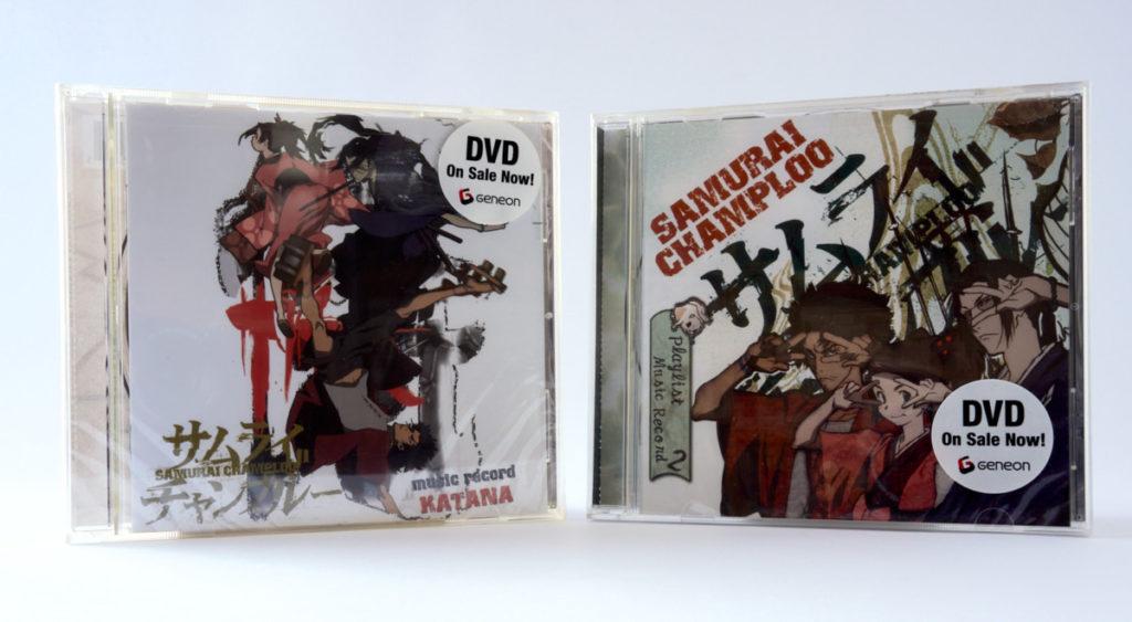 Samurai Champloo OST - Geneon